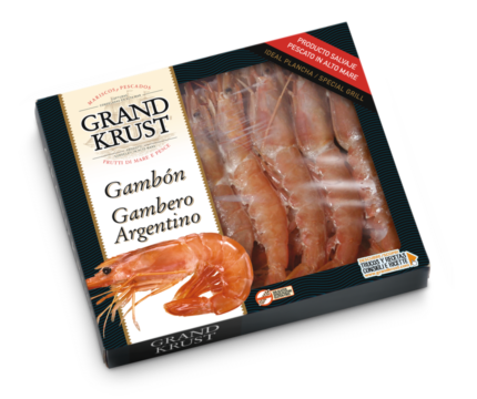 Gambón entero crudo 400 g