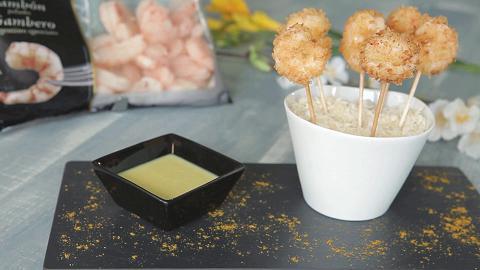 Panko fried shrimp
