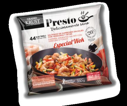 Salteado de marisco – Especial wok