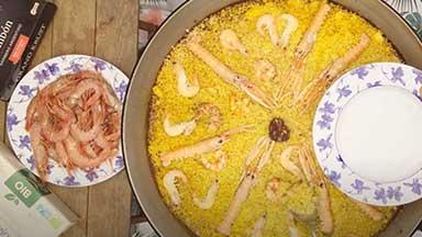 Sefood paella